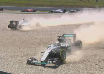Para Rosberg y Hamilton, Montmeló es
