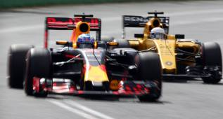 Ricciardo y Magnussen, con la evolución de Renault en Mónaco