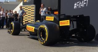 Pirelli presenta los neumáticos que tendrá la nueva Fórmula 1