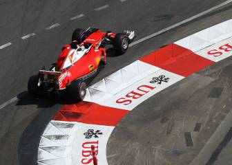 Vettel se une a la fiesta, Sainz 7º y Alonso, fuera del Top 10
