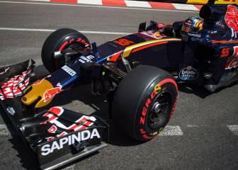 Sainz, mejor sábado en Mónaco de Toro Rosso: