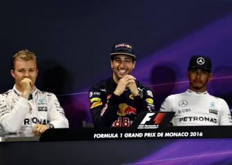 Los pilotos de Mercedes