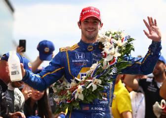 Alexander Rossi reina en las 500 Millas de Indianápolis