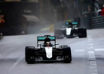 Hamilton agradece el gesto que tuvo el caballero Rosberg