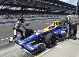 Un 'ritmo de caracol' permitió a Rossi vencer en la Indy 500
