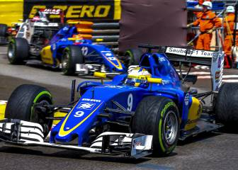 ¿Chocó a propósito Ericsson contra Nasr en Mónaco?