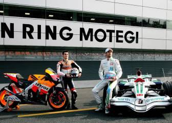 El F-1 arrasa a la MotoGP pese a su menor velocidad punta
