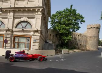 Da una vuelta al nuevo circuito de Bakú al volante de un GP3