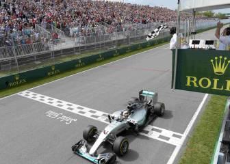 Lewis Hamilton es el rey en activo de la pista de Montreal