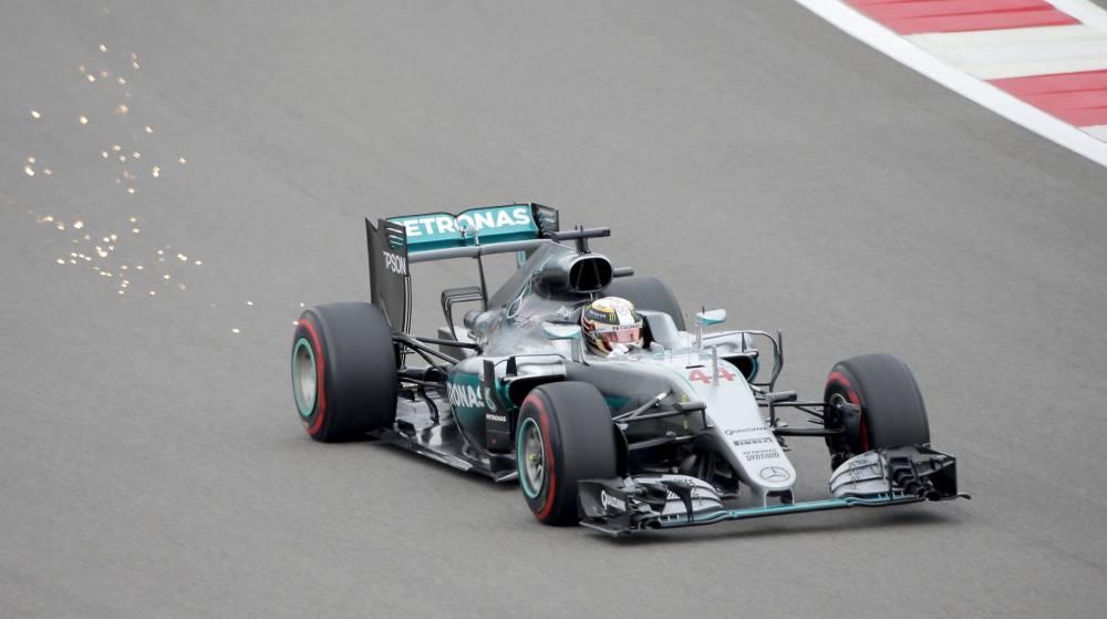 Lewis Hamilton fue el más rápido en los primeros libres.