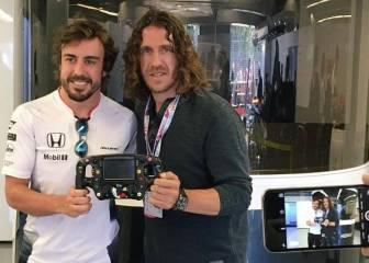 """Puyol: """"Alonso ganará en cuanto corra un poco el coche"""""""