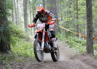 Laia es tercera en Finlandia y debe familiarizarse con la KTM