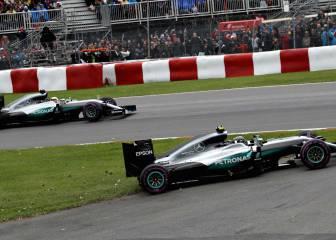 Rosberg contra Hamilton, nueva batalla en Mercedes