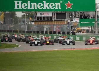 Uno por uno del GP de Canadá
