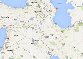 ¿Dónde está Bakú?