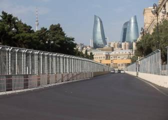 Bakú, 40 millones para ponerse en el mapa gracias a la F1