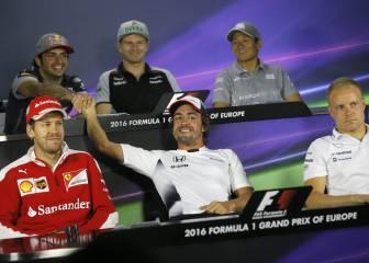 Alonso cambia a Sainz ser el mejor español por el título