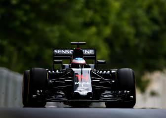 Hamilton manda, Alonso deslumbra siendo 4º y Sainz, 9º