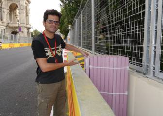Bakú: Tuvieron que revisar las protecciones del circuito