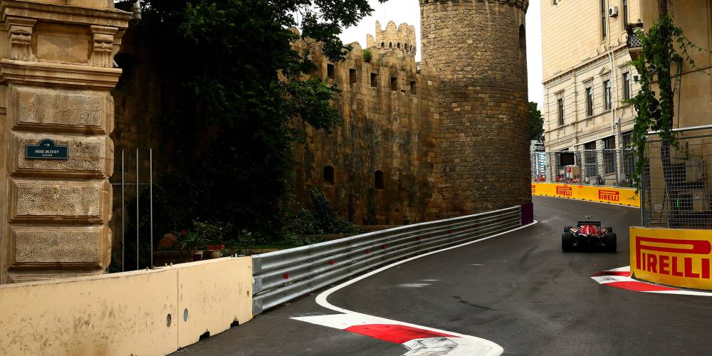 Circuito Urbano La Bañeza 2018 : Clasificación gp de europa f en bakú circuito