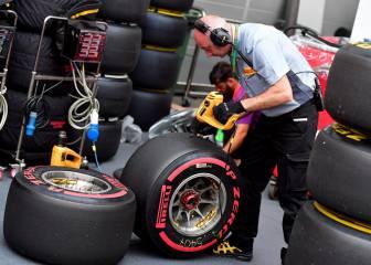 Pirelli baja las presiones de sus ruedas por quejas de pilotos