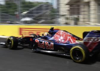 Sainz sale 18º en la carrera de Bakú por la caja de cambios