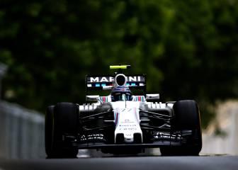 Bottas bate el récord de la F1 con 378 km/h en Bakú