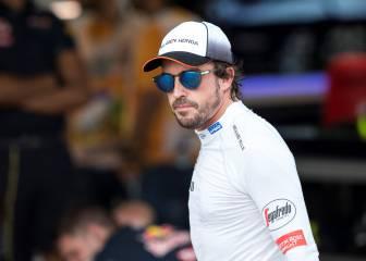 """Alonso: """"Solo fue excitante la salida, pasé a Hamilton"""""""
