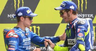 """Rossi: """"Maverick ya demostró que es uno de los fuertes"""""""
