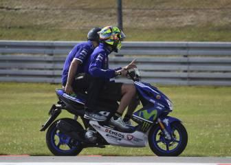 Lorenzo y Rossi tienen un chasis nuevo y otro antiguo