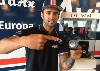 Barberá conmemora su título Open del 2015 con un reloj