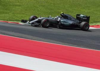 Clasificación GP de Austria 2016 en el circuito Red Bull Ring