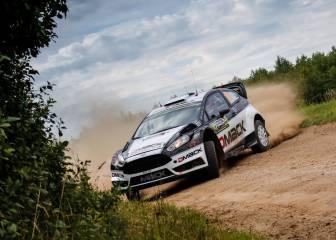 Ott Tanak pone rumbo hacia su primer triunfo en Polonia