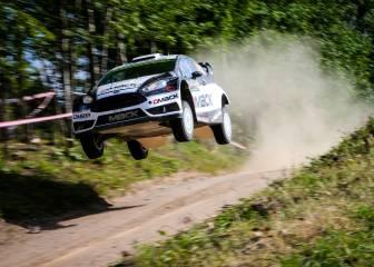 Ott Tanak tiene al alcance su primer triunfo en Polonia