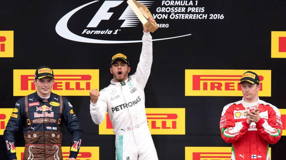 Hamilton gana con polémica; Alonso no acaba y Sainz es 8º