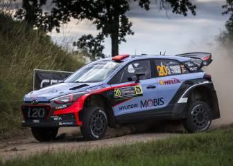 Fuerte accidente de Dani Sordo en los test de Finlandia