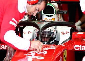 El Halo regresa: Ferrari estrena su versión modificada en los L1