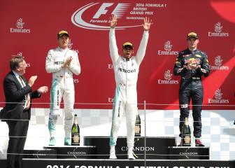 Nico Rosberg podría perder el podio de Silverstone