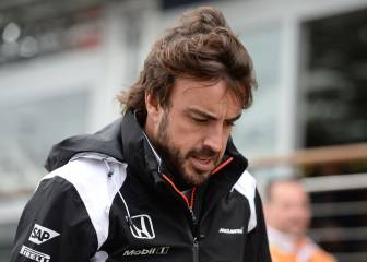 """Alonso: """"Con 80 o 100 caballos menos hay que tomar riesgos"""""""