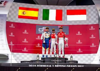 Palou, segundo en Silverstone tras el lío de la bandera en GP3
