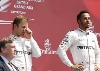 Hamilton a sus fans tras pitar a Rosberg: