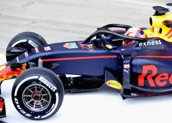 Red Bull prueba el Halo de Ferrari sobre el que hay dudas
