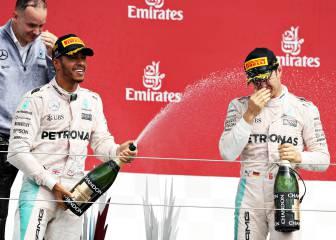 Las casas de apuestas no tienen dudas: Hamilton será campeón