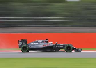 McLaren Honda usa Silverstone para mejorar chasis y motor