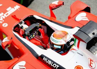 Raikkonen toma el relevo de Fernando Alonso en Silverstone