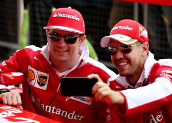 Vettel es la razón por la que Ferrari renovó a Raikkonen