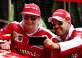 Vettel, la razón por la que Ferrari decidió continuar con Raikkonen