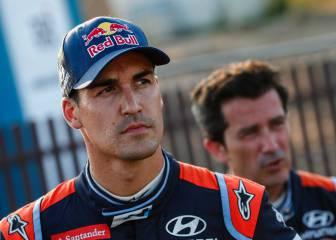 Dani Sordo, lesionado, no correrá en el Rally de Finlandia