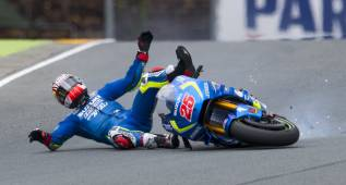 Festival Maverick y crisis Yamaha: Rossi 14º y Lorenzo 16º