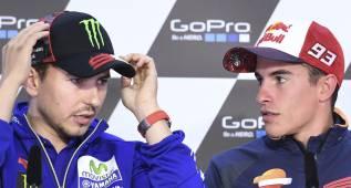 Márquez prefiere un Montmeló distinto al de Rossi y Lorenzo